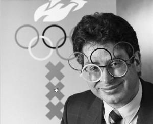 Mayor Ed van Thijn preparing for the Olympic bid.