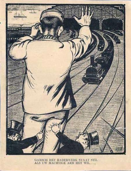 De spoorwegstaking als sociale mythe
